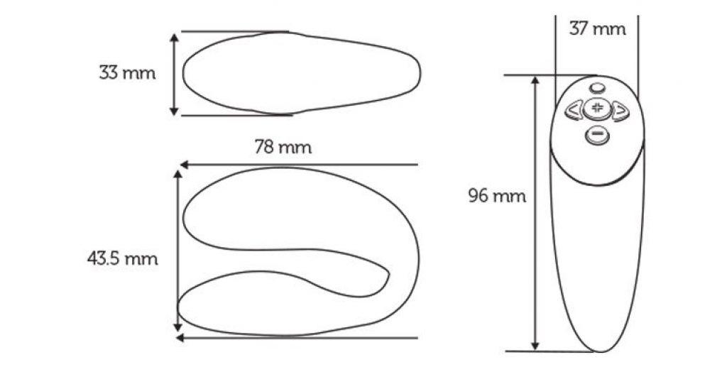 WeVibe measurements